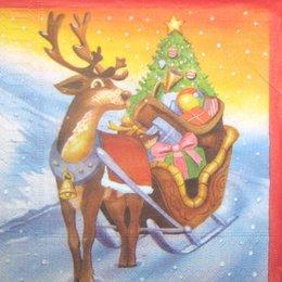 8159. Рождественский олень.
