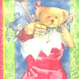 8294. Рождественский сапог с подарками. 10 шт., 9 руб/шт