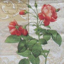 8338. Веточка розы. 20 шт., 5,5 руб/шт
