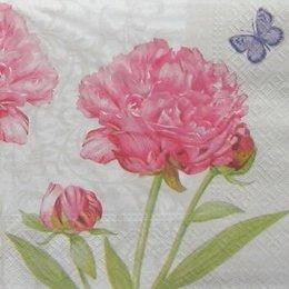 12840. Розовые цветы. 20 шт., 8 руб/шт