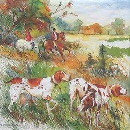 4952. Охота с собаками.