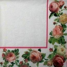 8772. Бордюр с розами