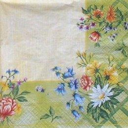 8793. Бордюр из полевых цветов.