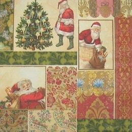 996. Дед Мороз на открытках. 20 шт., 5,5 руб/шт