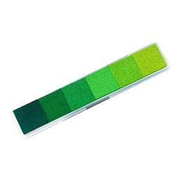 hm-2666. Набор штемпельных подушечек, цвет зеленый
