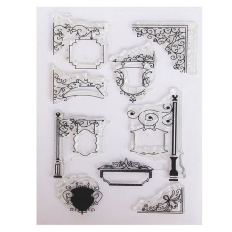 10427.  Набор силиконовых штампов