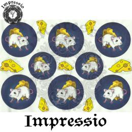 15872. Декупажная карта Impressio, плотность 45 г/м2