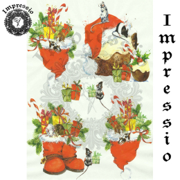 15893. Декупажная карта Impressio, плотность 45 г/м2