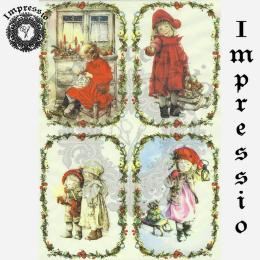 15913. Декупажная карта Impressio, плотность 45 г/м2