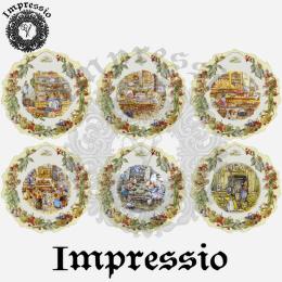 16019. Декупажная карта Impressio, плотность 45 г/м2