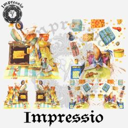 16020. Декупажная карта Impressio, плотность 45 г/м2