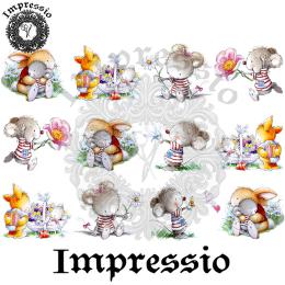 16054. Декупажная карта Impressio, плотность 45 г/м2
