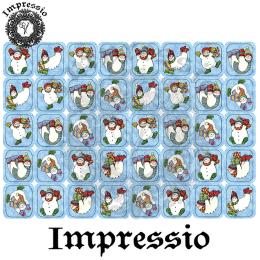 16062. Декупажная карта Impressio, плотность 45 г/м2