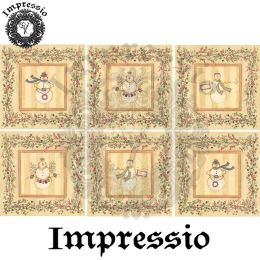 16067. Декупажная карта Impressio, плотность 45 г/м2