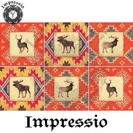 16152. Декупажная карта Impressio, плотность 45 г/м2