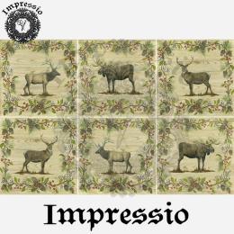 16161. Декупажная карта Impressio, плотность 45 г/м2