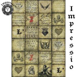 16234. Декупажная карта Impressio, плотность 45 г/м2