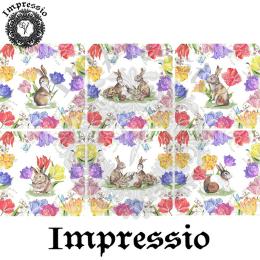 16284. Декупажная карта Impressio, плотность 45 г/м2