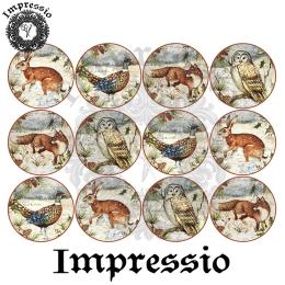 16611. Декупажная карта Impressio, плотность 45 г/м2