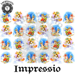16654. Декупажная карта Impressio, плотность 45 г/м2