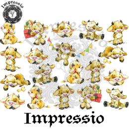 16731. Декупажная карта Impressio, плотность 45 г/м2