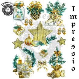 16743. Декупажная карта Impressio, плотность 45 г/м2