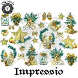 16744. Декупажная карта Impressio, плотность 45 г/м2