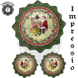 16746. Декупажная карта Impressio, плотность 45 г/м2