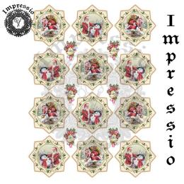 16752. Декупажная карта Impressio, плотность 45 г/м2