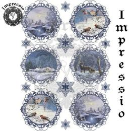 16768. Декупажная карта Impressio, плотность 45 г/м2