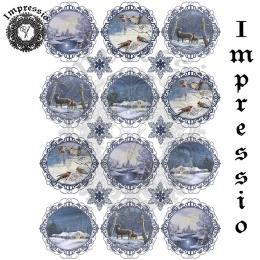 16769. Декупажная карта Impressio, плотность 45 г/м2