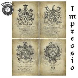 16776. Декупажная карта Impressio, плотность 45 г/м2