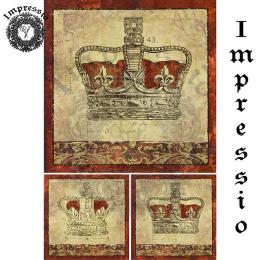 16782. Декупажная карта Impressio, плотность 45 г/м2