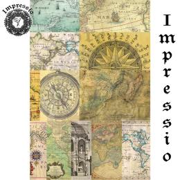 16795. Декупажная карта Impressio, плотность 45 г/м2