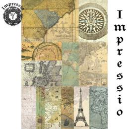 16796. Декупажная карта Impressio, плотность 45 г/м2