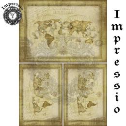 16799. Декупажная карта Impressio, плотность 45 г/м2