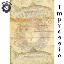 16811. Декупажная карта Impressio, плотность 45 г/м2