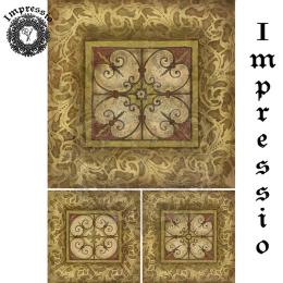 16821. Декупажная карта Impressio, плотность 45 г/м2