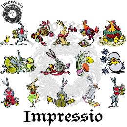 16849. Декупажная карта Impressio, плотность 45 г/м2