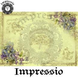 17000. Декупажная карта Impressio, плотность 45 г/м2