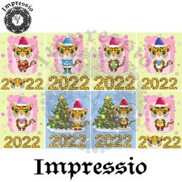 17045. Декупажная карта Impressio, плотность 45 г/м2