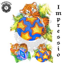 17060. Декупажная карта Impressio, плотность 45 г/м2