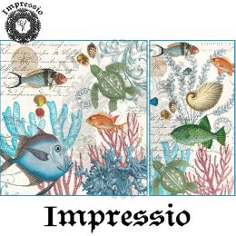 17076. Декупажная карта Impressio, плотность 45 г/м2