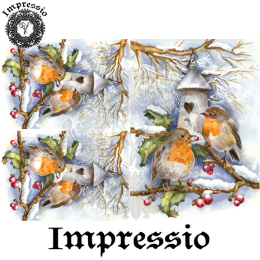 17103. Декупажная карта Impressio, плотность 45 г/м2