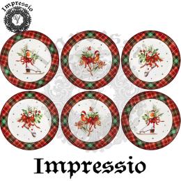 17115. Декупажная карта Impressio, плотность 45 г/м2