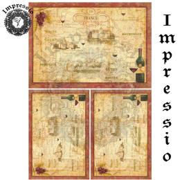 17280. Декупажная карта Impressio, плотность 45 г/м2