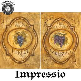17281. Декупажная карта Impressio, плотность 45 г/м2