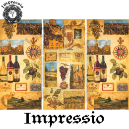 17296. Декупажная карта Impressio, плотность 45 г/м2