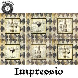 17304. Декупажная карта Impressio, плотность 45 г/м2