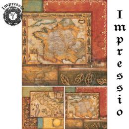 17317. Декупажная карта Impressio, плотность 45 г/м2